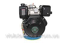 Двигатель дизельный GrunWelt GW186FВ (9,5 л.с., шлицы), фото 3