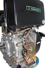 Двигатель дизельный GrunWelt GW186FВ (9,5 л.с., шлицы), фото 2
