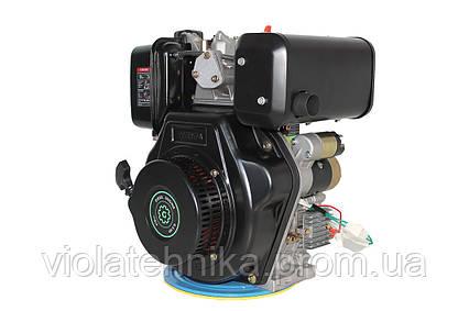 Двигатель дизельный GrunWelt GW186FВE (9,5 л.с., шлицы), фото 2