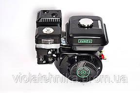 Двигатель бензиновый GrunWelt GW170F-S NEW Евро 5 (шпонка, вал 20 мм, 7.0 л.с.), фото 2