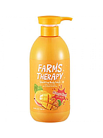 Гель для душа с манго Farms Therapy Sparkling Body Wash-Mango Rush DAENG GI MEO RI, 700 мл