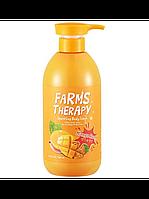 Гель для душу з манго Farms Therapy Sparkling Body Wash-Mango Rush DAENG GI MEO RI, 700 мл