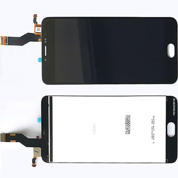 Дисплей модуль Meizu M3 Note L681H в зборі з тачскріном, чорний