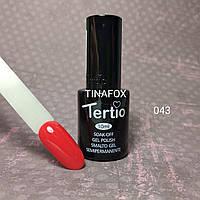 Гель-лак для ногтей Tertio №43, 10мл