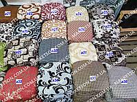 Чехлы на табуретки комплект 4 шт на резинке (сидушка на табурет, стул) №27/9
