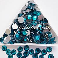 """Стрази ss12 Blue Zircon (3,0 мм) 1400шт """"Crystal Premium"""""""