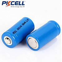 Акумулятор CR123A, CR123, LR123A, 16340 PKCELL 700 mAh (ціна за 1 штуку)
