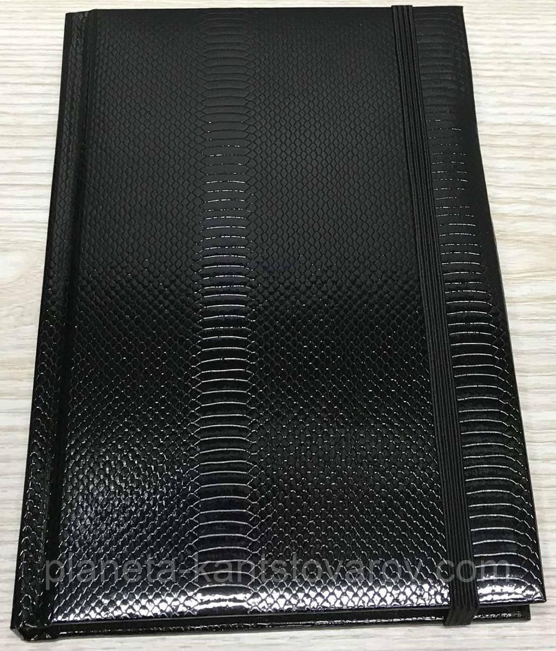 Блокнот на резинке в клеточку (А5, 144 листа) WB-5684