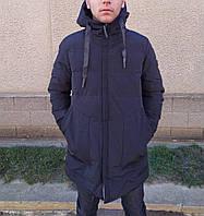 Мужская черная куртка (Парка)