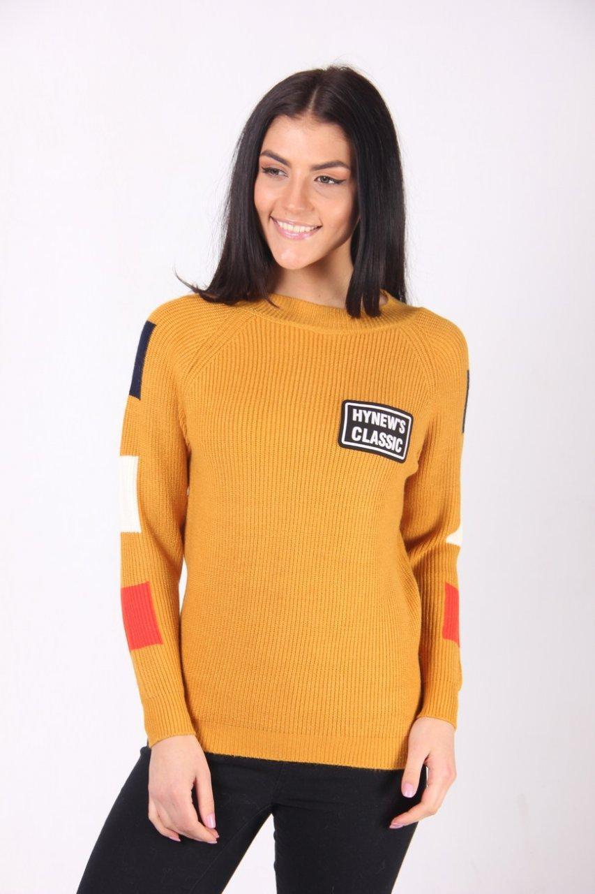 Кофта женская LadiesFashion 9713 (Желтый M/L)