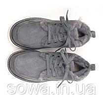 """Мужские ботинки - угги UGG DAVID BECKHAM BOOT """"GREY"""", фото 2"""