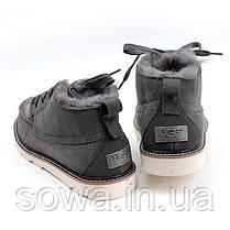 """Мужские ботинки - угги UGG DAVID BECKHAM BOOT """"GREY"""", фото 3"""