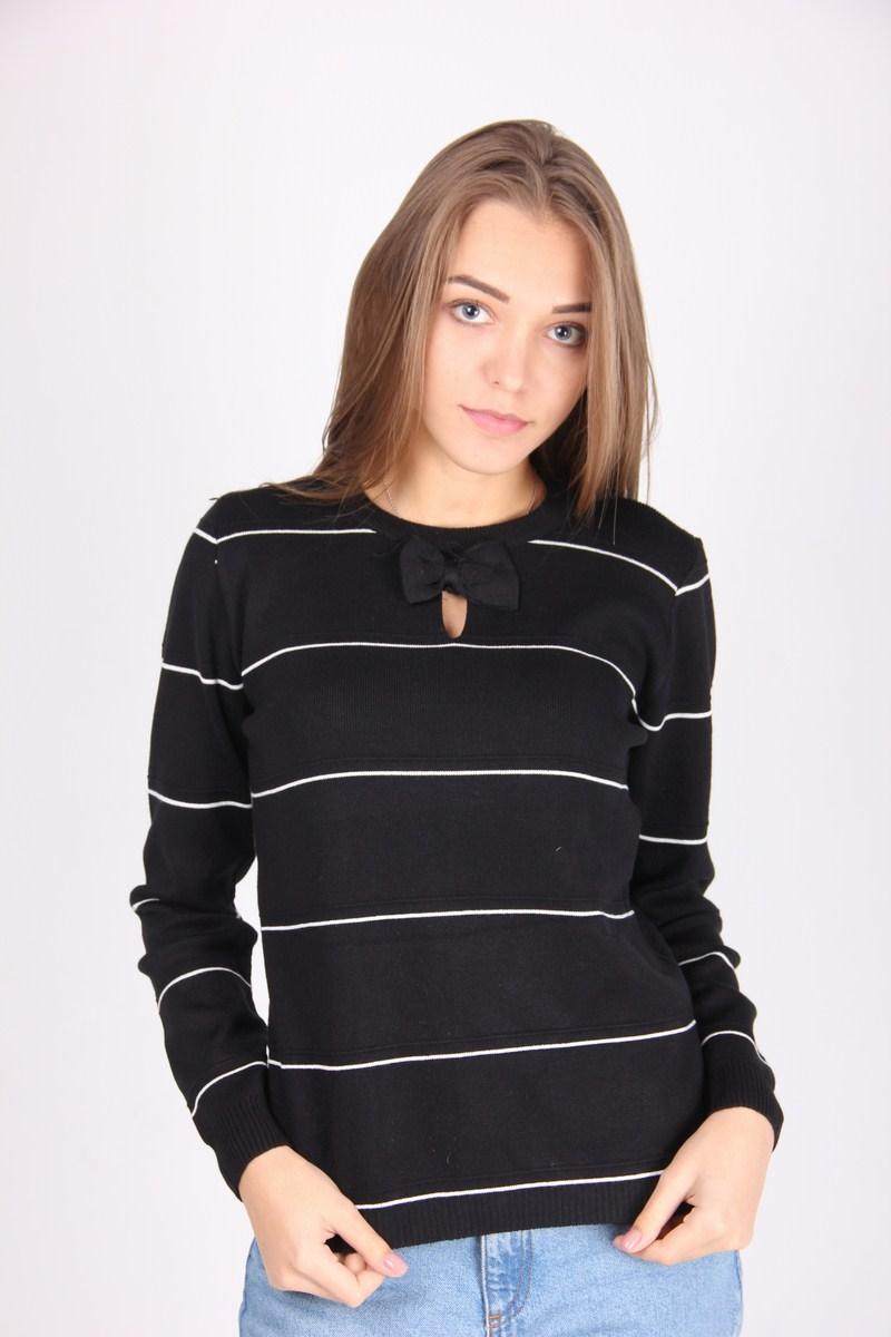 Кофта женская LadiesFashion 1236 (Черный M/L)