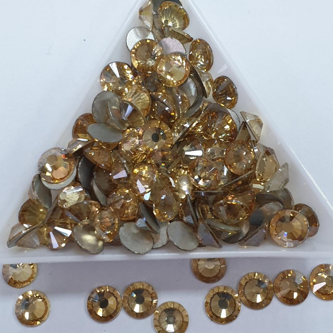 """Стрази ss16 Gold Shaddow (Champagne) (4,0 мм) 1400шт """"Crystal Premium"""""""