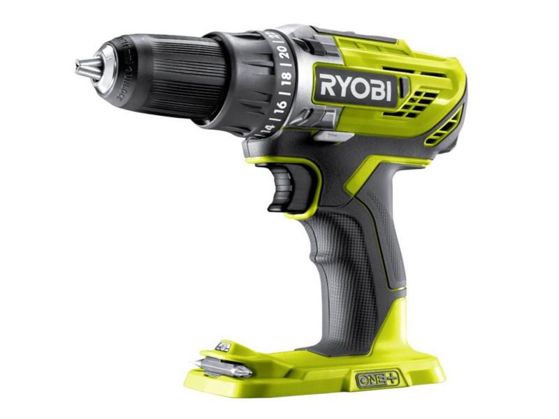 Шуруповерт акумуляторний безщітковий Ryobi R18DD5-0