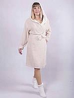 Махровые халаты из хлопка женские, фото 1