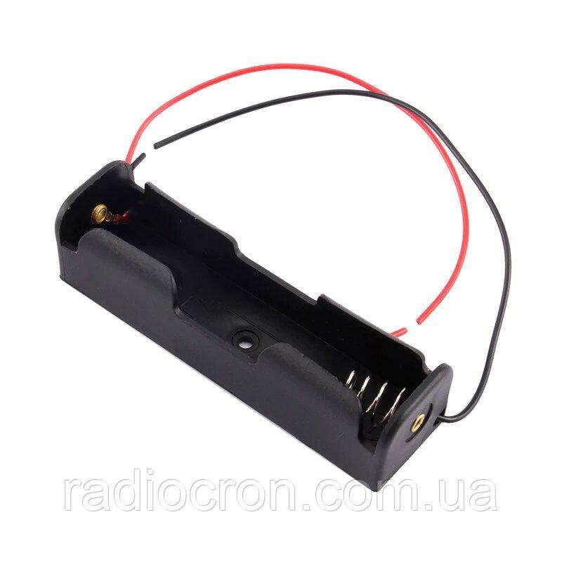 Батарейный отсек 18650 с проводами