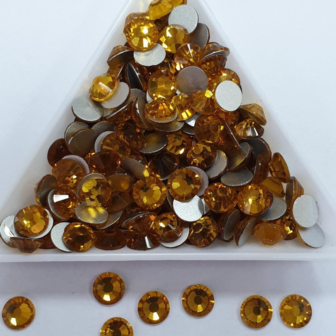 "Стразы ss12 Topaz (3,0мм) 1400шт ""Crystal Premium"""