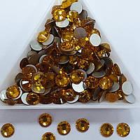 "Стрази ss12 Topaz (3,0 мм) 1400шт ""Crystal Premium"""