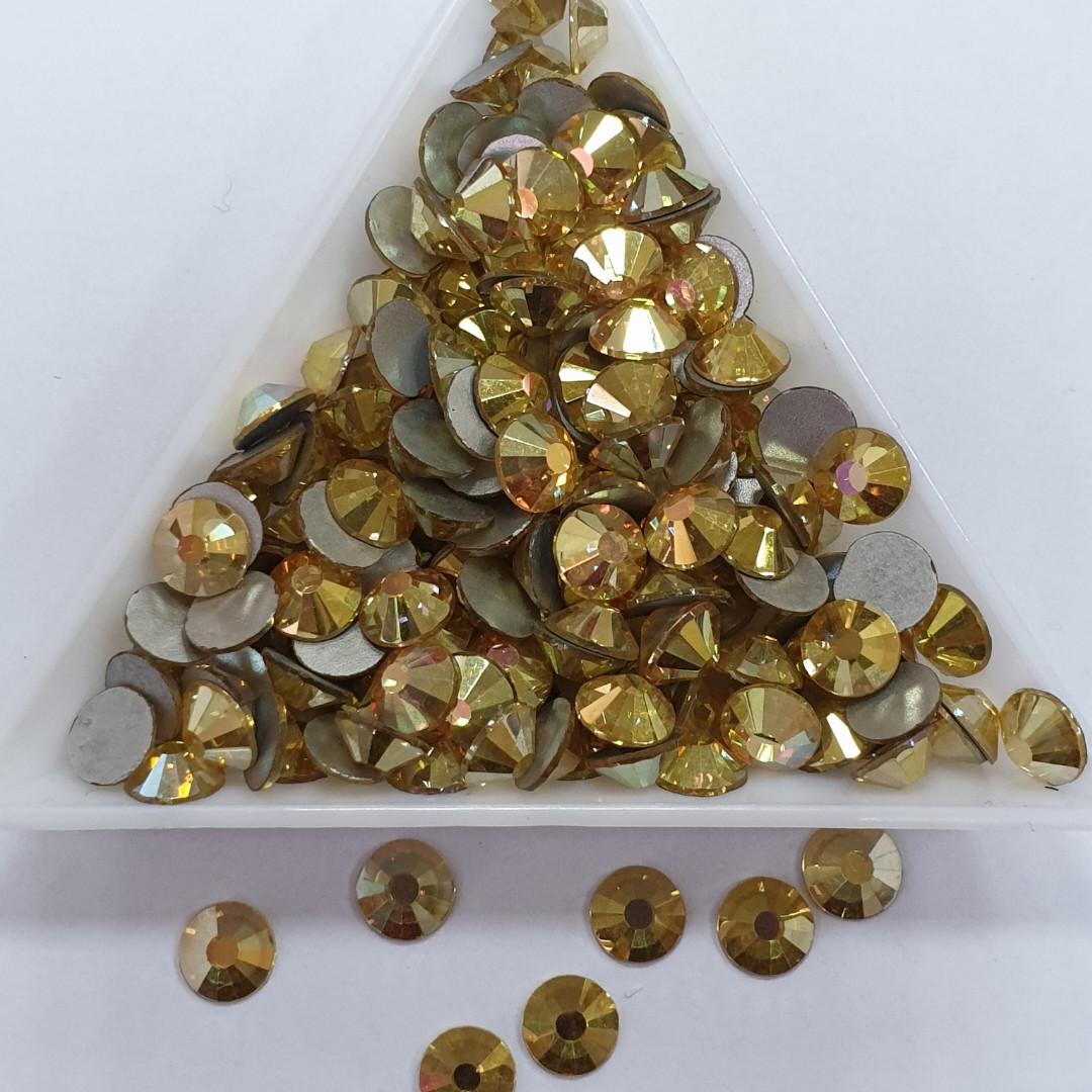 "Стрази ss16 Sunshine (Gold Dream) (4,0 мм) 1400шт ""Crystal Premium"""