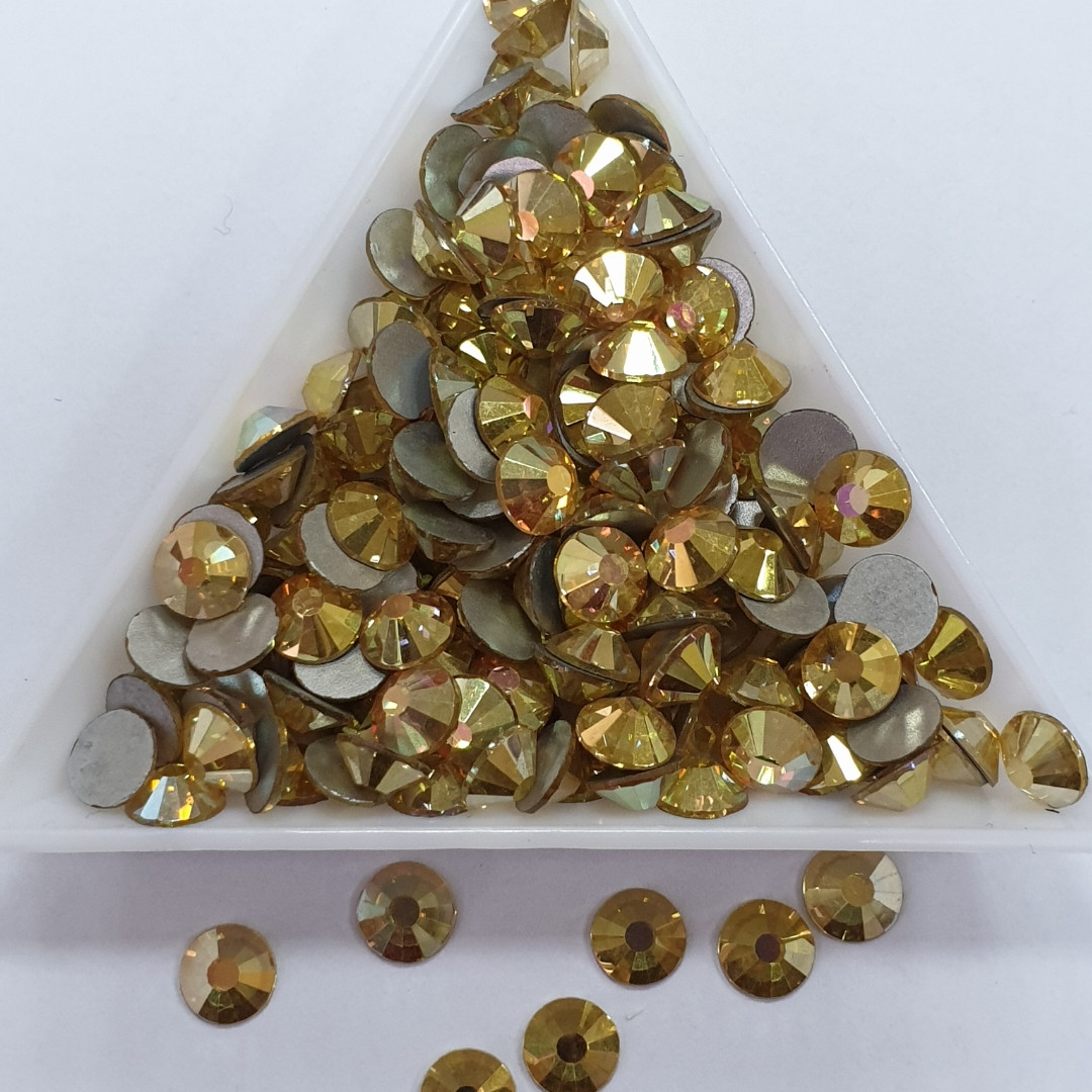 "Стрази ss20 Sunshine (Gold Dream) (5,0 мм) 1400шт ""Crystal Premium"""