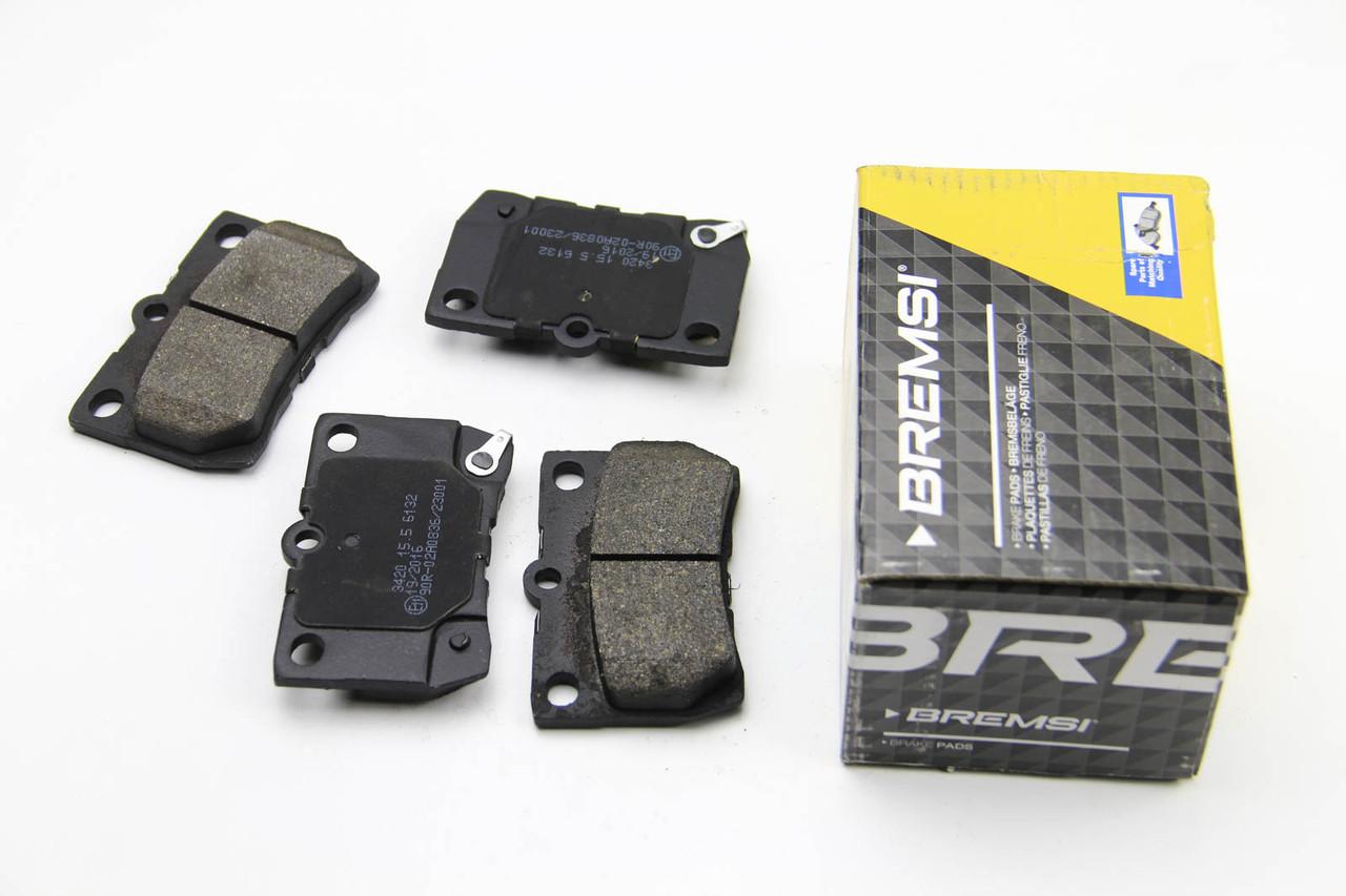 Колодки тормозные задние Lexus GS 2005-