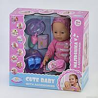 Пупс с горшком Warm Baby, 9 функций, 8060-499, фото 1