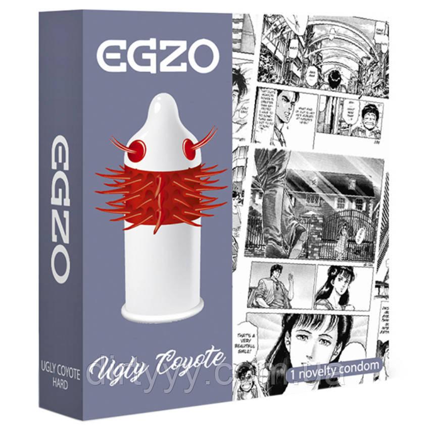 Одноразовая насадка на член - EGZO Uglu Coyot (не является контрацептивом)
