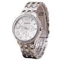 Женские часы Geneva Silver - гарантия 6 месяцев