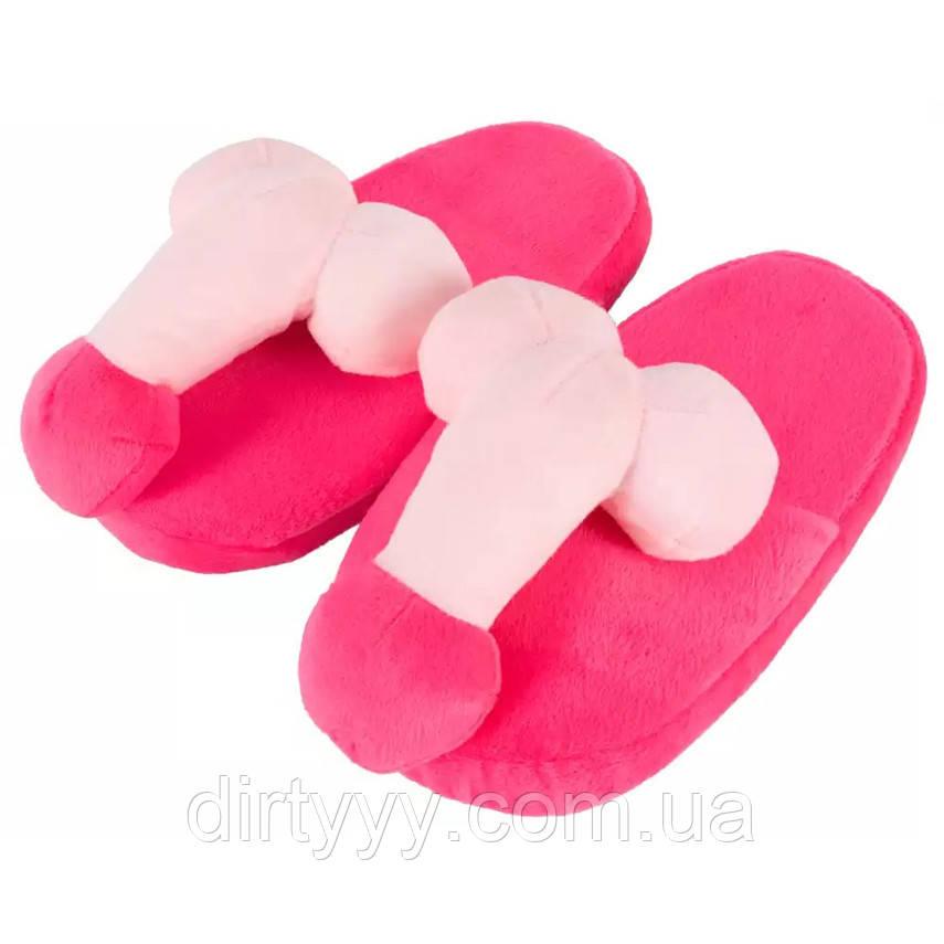 Тапочки House Slippers Penis PINK