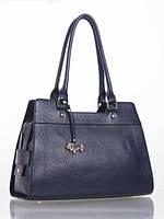Женская кожаная сумка синяя L-DA80994 Labbra