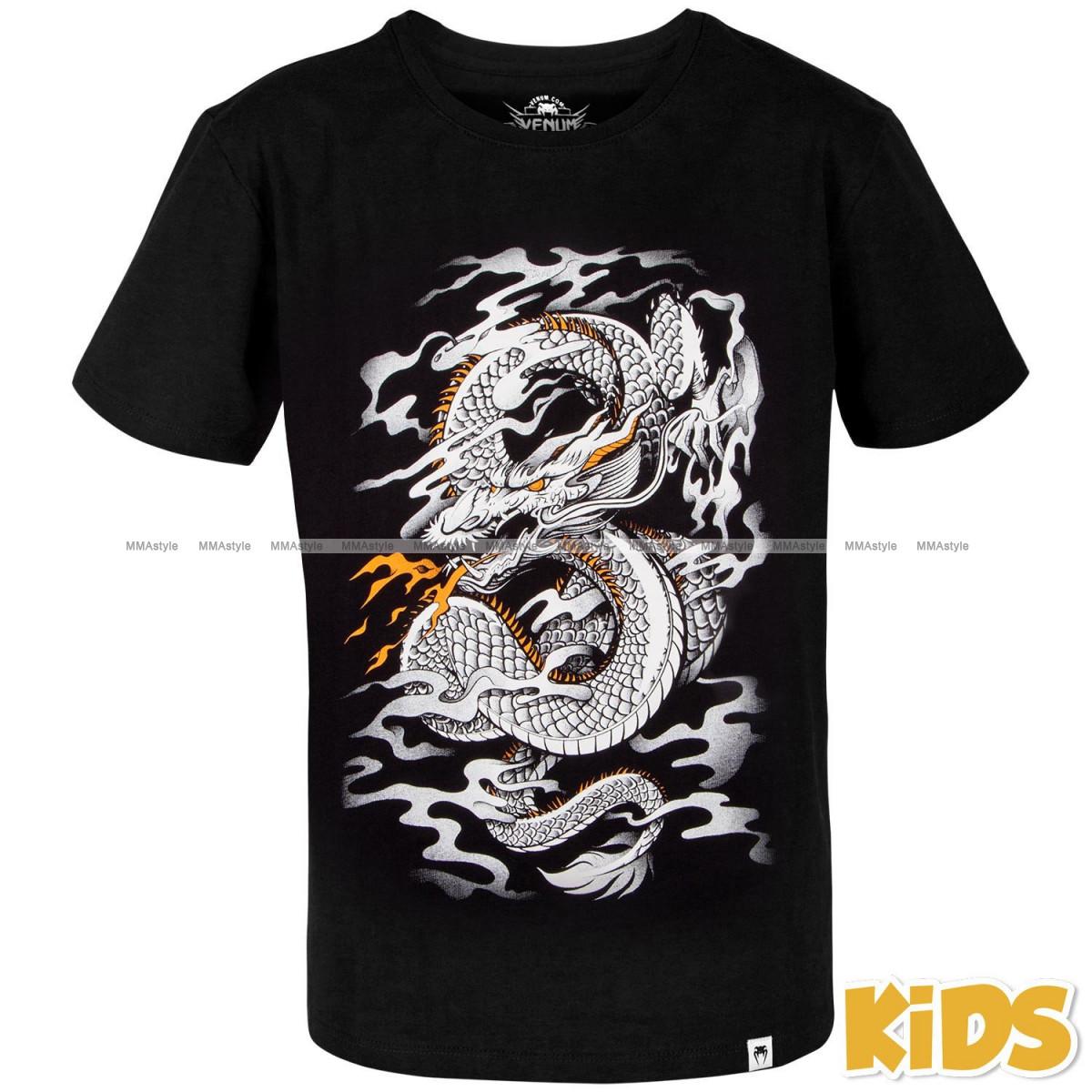 Детская футболка Venum Dragons Flight Kids T-shirt - Black