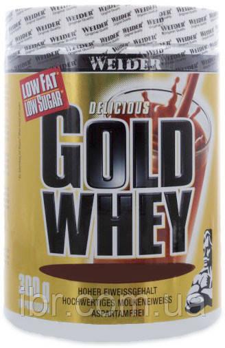 Протеин WEIDER GOLD WHEY 300 g Milk Chocolate