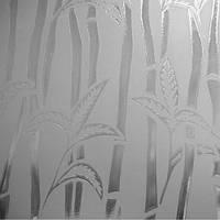 Візерункове рифленное скло Бамбук безбарвний 5мм