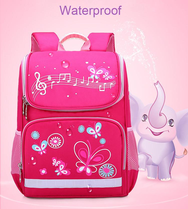Рюкзак школьный ZUOK для девочек каркасный с ортопедической спинкой розовый