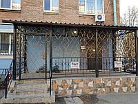 Кованое крыльцо в Киеве арт дс №17, фото 1