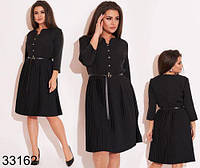 Модное женское платье с рукавом три четверти р.48-50,52-54,56-58