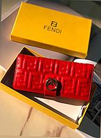 Женский кожаный кошелек Fendi Фенди в расцветках 3