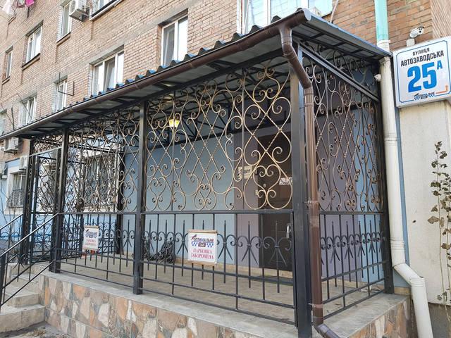 Кованое крыльцо в Киеве  -1