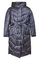 Стеганая женская куртка-пальто, 29265