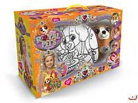 "Набор ""ROYAL PET'S"", сумочка-раскраска + игрушка ""Собачка"" RP-01-03U  scs"