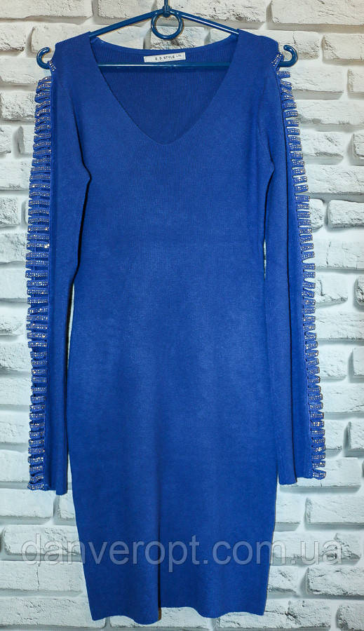 Платье женское стильное размер S-XL купить оптом со склада 7км Одесса
