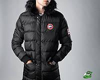 Мужская зимняя куртка Canada Goose черная