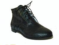 Ботинки в коже питона