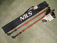 Палки для скандинавской ходьбы NILS  Nordik Walking POLE NW 802. Трекиноговые палки