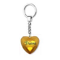 Брелок-сердце BeHappy с именем Диана GH-44, КОД: 1328765