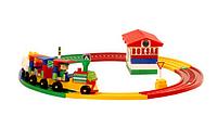 Детский конструктор железная дорога, Термінал - 1 ТехноК 1233