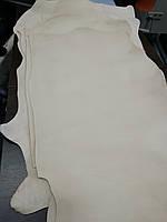Натуральная Итальянская кожа Vacchetta  растительного дубления 1.2-1.3мм. Цвет - бежевый (под покраску)