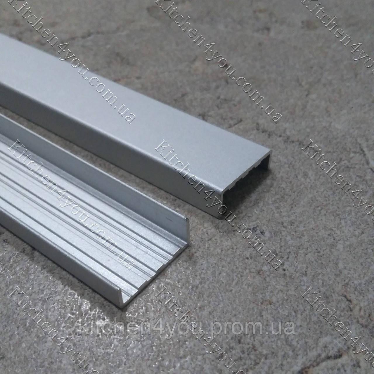 Алюмінієвий профіль З -17 мм, анодований.