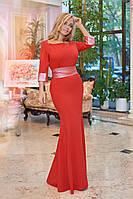 Женское длинное платье размер 50-52. Артикул: AP01300